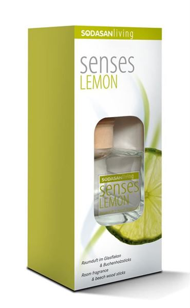 Picture of Raumduft senses Lemon, Sodasan, 200ml