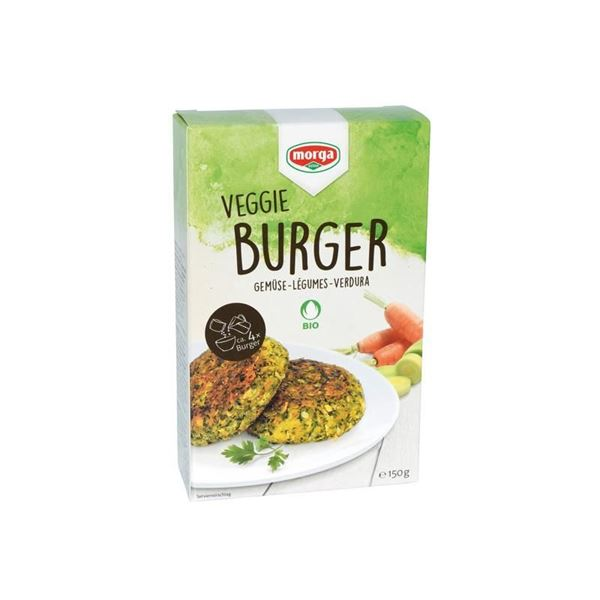 Picture of Veggie Burger Gemüse, Morga, 150g