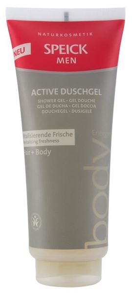 Picture of Active Duschgel Hair&Body Men, Speick, 200ml