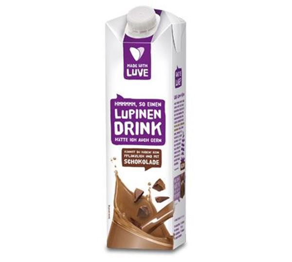 Picture of Lupinen Drink Schokolade, Made with Luve, 1l