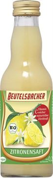 Picture of Zitronensaft BIO, Beutelsbacher, 200ml