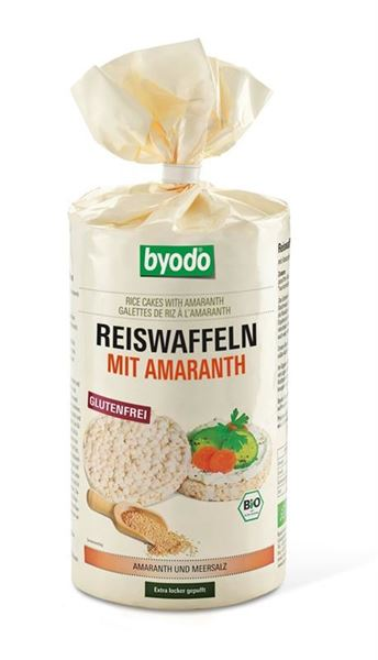 Picture of Reiswaffeln Amaranth, Byodo, 100g
