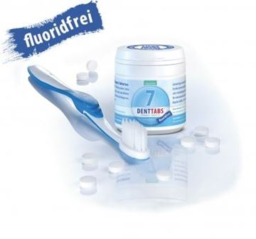 Picture of Denttabs Fluoridfrei, Denttabs, 125 Tabletten