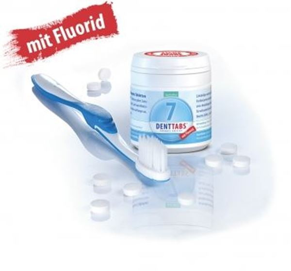Picture of Denttabs mit Fluorid, Denttabs, 125 Tabletten