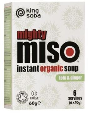 Bild von Mighty Miso Soup Tofu, King Soba, 60g