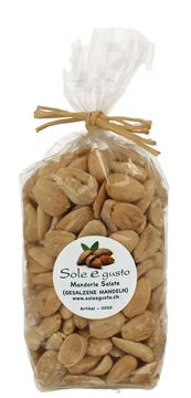 Picture of Mandorle Salate, Sole e gusto, 250g