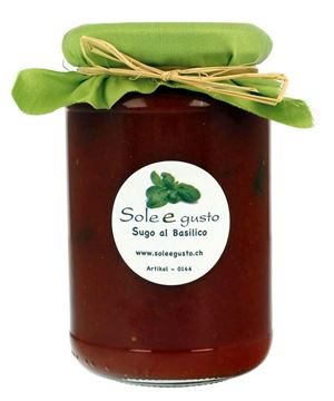 Picture of Sugo al basilico, Sole e gusto, 350g