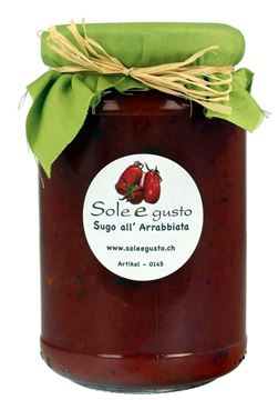 Bild von Sugo all' Arrabbiata, Sole e gusto, 350g