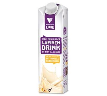 Picture of Lupinen Drink Vanille, Made with Luve, 1l