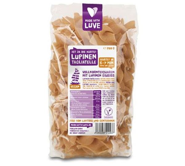 Bild von Lupinen Tagliatelle, Made with Luve, 250g