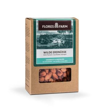 Picture of Wilde Erdnüsse, Flores Farm, 100g