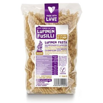 Bild von Lupinen Fusilli, Made with Luve, 250g