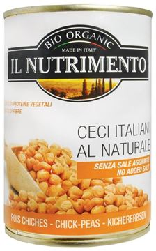 Picture of Kichererbsen BIO, Il Nutrimento, 400g