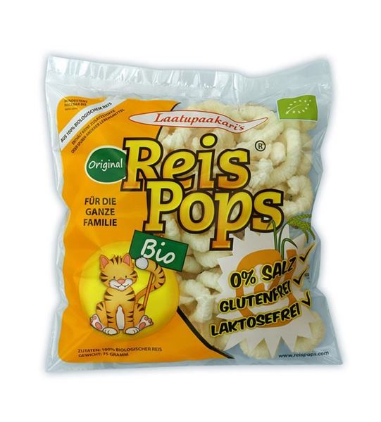 Picture of Reis Pops BIO, Mais Pops, 75g