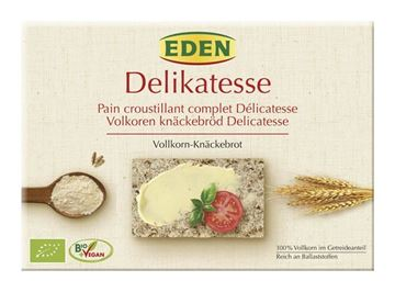 Picture of Delikatesse Vollkorn-Knäckebrot, Eden, 250g