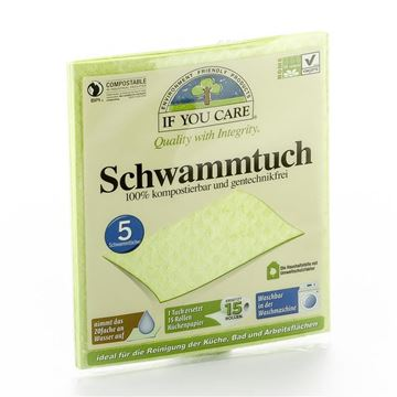 Picture of Schwammtuch, If you care, 5Stk.