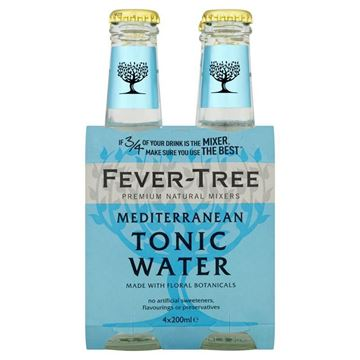 Picture of Mediterranean Tonic, Fever-Tree, 4x200ml
