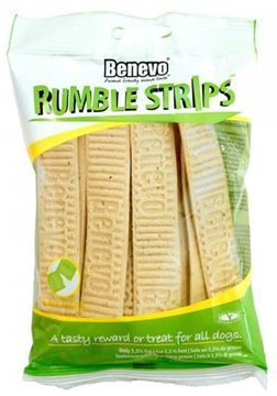 Picture of Rumble Strips Kaustreifen für Hunde, Benevo, 180g