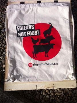Picture of Rucksack 'Friends not Food', tier-im-fokus.ch, 1 Stück