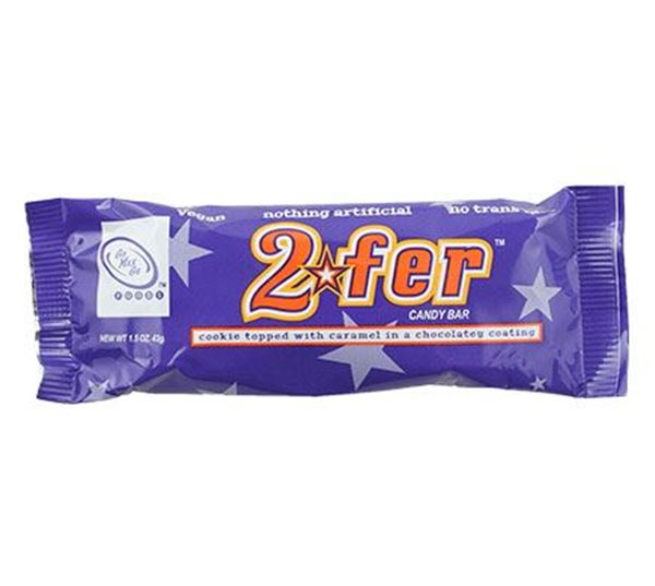 Picture of 2Fer Candy Bar, GoMaxGo, 43g