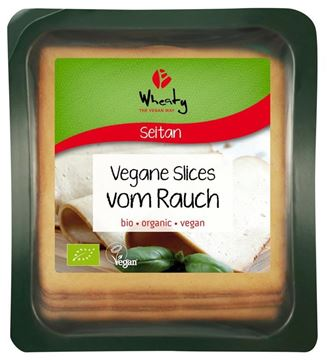 Picture of Vegane Slices vom Rauch, Wheaty, 100g