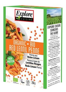 Picture of Rote Linsen Penne, Explore Asia, 250g