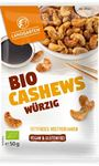 Picture of Würzige Cashews BIO, Landgarten, 55g