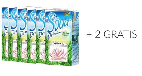 Picture of Swiss Soya Drink natural, Soyana, 8x1l AKTION