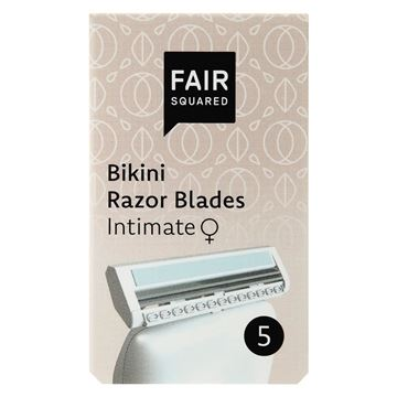 Picture of Bikini Razor Blades, Fair Squared, 5Stk.
