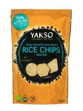 Picture of Rice Chips BIO, Yakso, 70g
