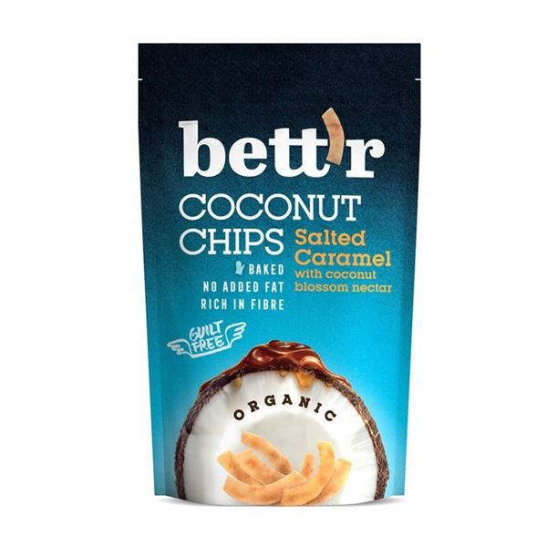 Picture of Coconut Chips Salted Caramel, Bettr, 70g