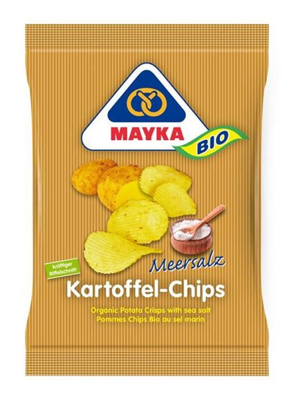 Picture of Chips Kartoffel gesalzen, Mayka, 70g