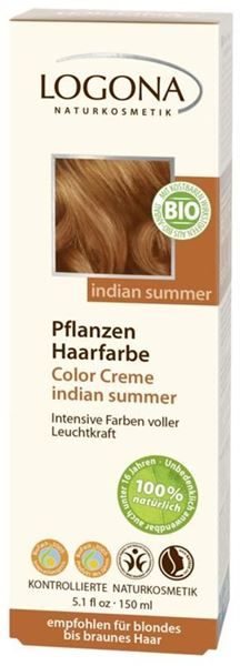 Bild von Color Cream Indian Summer, Logona, 150ml