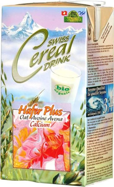 Picture of Swiss Cereal Hafer-Drink + Calcium, Soyana, 1l