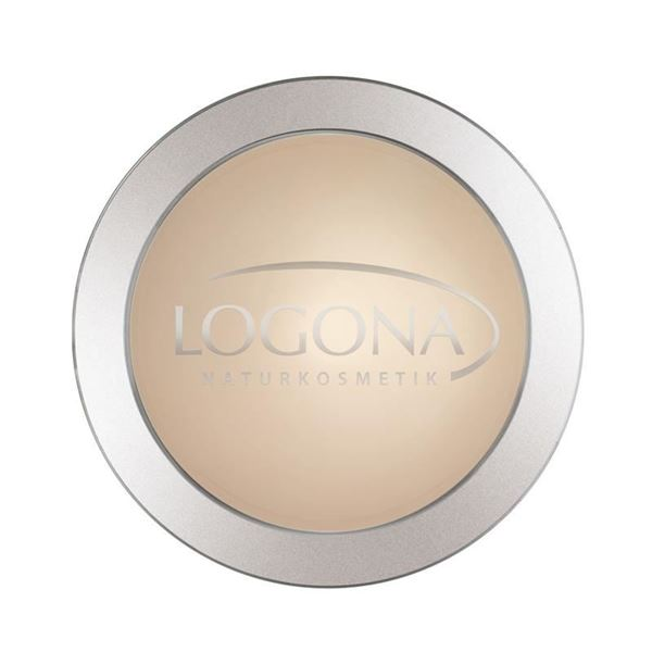 Bild von Face Powder 01 light beige, Logona, 10g