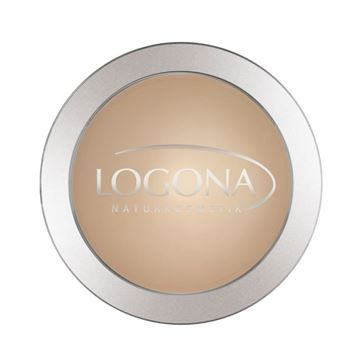 Bild von  Face Powder 02 medium beige, Logona, 10g