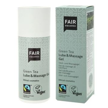 Bild von Lube & Massage Gel Green Tea, Fair Squared, 150ml