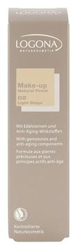 Bild von  Make-up Natural Finish No.02, Logona, 30ml