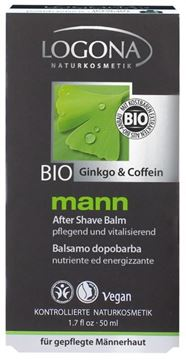 Picture of  Mann After Shave Balm Ginkgo&Coff., Logona, 50ml