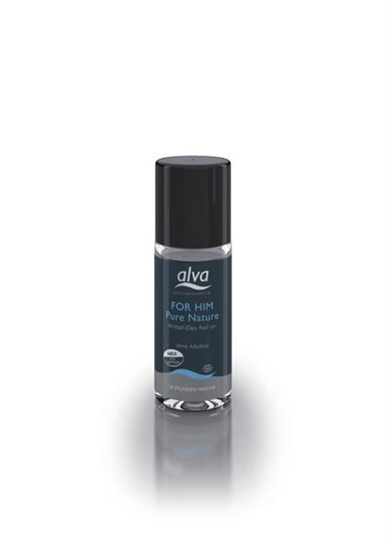 Picture of  For Him Pure Nature Kristall Roll-On, Alva, 50ml