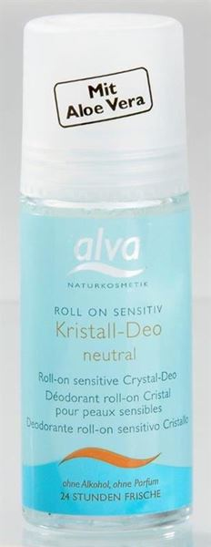 Bild von Kristall Deo Roll on Sensitiv, Alva, 50ml
