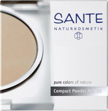 Bild von Compact Powder No. 02 Light Beige, Sante, 9g