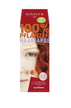 Picture of Pflanzenhaarfarbe naturrot, Sante, 100g