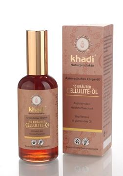 Picture of 10 Kräuter Cellulite Öl,Khadi,  100ml