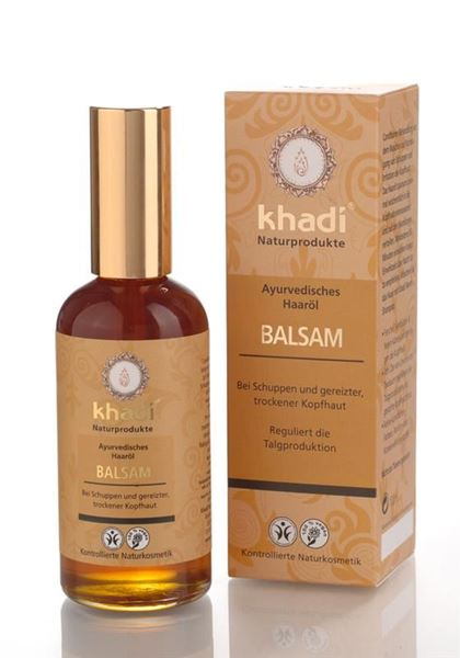 Picture of Balsam Haaröl (Anti Schuppen), Khadi, 100ml