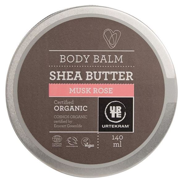 Picture of Sheabutter Body Balm Rose Musk, Urtekram, 140ml