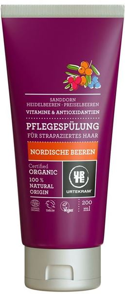 Picture of  Pflegespülung Nordic Berries, Urtekram, 200ml