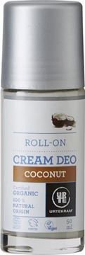 Picture of Deo Roll On Cream Coconut, Urtekram, 50ml