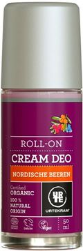 Bild von  Deo Roll On Cream Nordic Berries, Urtekram, 50ml
