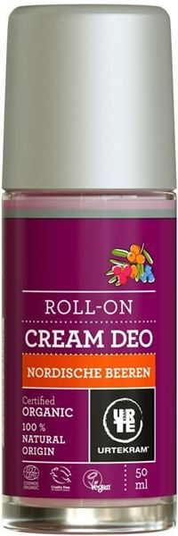 Picture of  Deo Roll On Cream Nordic Berries, Urtekram, 50ml